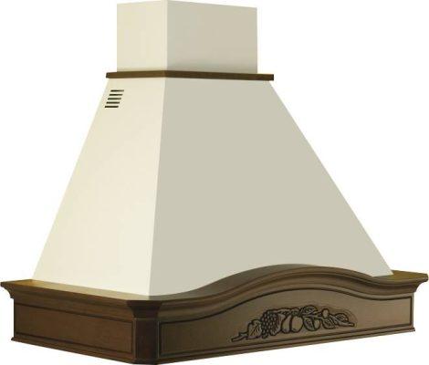 Kdesign GLENDA 120 T600 polc nélkül fali páraelszívó
