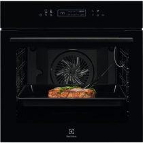 Electrolux KOE8P81Z SenseCook Beépíthető sütő, pirolitikus tisztítás, LCD kijelző, maghőmérő