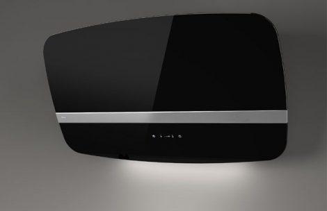 Sirius SLTC-91 fekete üveg fali páraelszívó