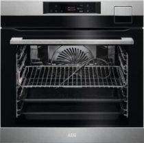 AEG BSK798380M SteamPro beépíthető gőzsütő, WIFI, SousVide, Steamify, maghőmérő
