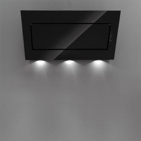 Falmec QUASAR EVO GLASS 90 fekete fali páraelszívó