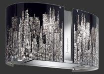Falmec MANHATTAN üveg (Round 67 fali) Mirabilia páraelszívókhoz tartozék páraelszívó